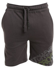 Crosshatch Faithless Jog CH Short Brown