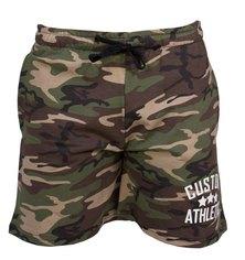 Custom Apparel Athletic Camo Cotton Shorts Army