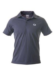 Custom Apparel Dri-Feel Golf Tee Charcoal