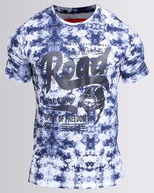 Cutty Rifle T Shirt Blue