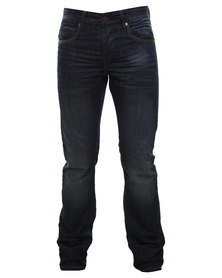 Cutty Michaels Slim Fit Denim Jeans Blue