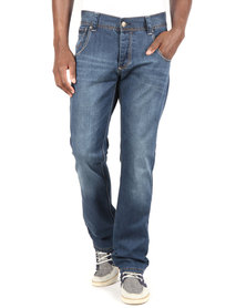 Cutty Sark Straight Leg Denim Jeans Blue