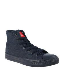 Cutty Bradshaw M.D. Hi Top Sneakers Blue
