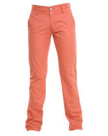 Cutty Bowie Cotton Pants Orange