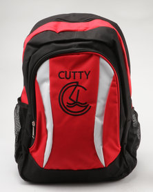 Cutty Franks Colour Block Backpack Black/Red