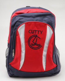Cutty Franks Colour Block Backpack Blue/Red