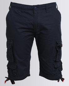 Cutty Battle Cargo Shorts Blue