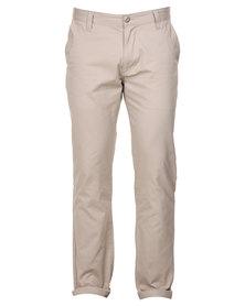 Cutty Grant Cotton Pants Beige