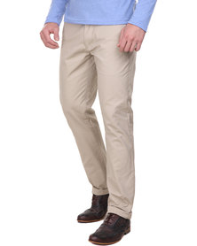 Cutty Grant Cotton Pants Beige