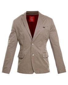Cutty Sinclair Fashion Jacket Taupe