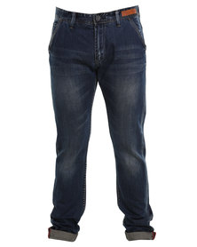 Cutty Pearson Anti Fit Denim Jeans Blue