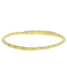 DA Active Thin Braided Headband Yellow