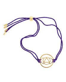 Daisy Ajna Brow Chakra Bracelet Gold-Plated