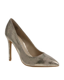 Daniella Michelle Becky Pointed Heel Gold
