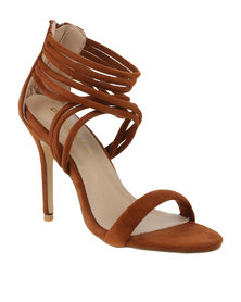 Daniella Michelle Exclusive Nina High Heel Chestnut