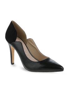 Daniella Michelle New Leah Pointed High Heels Black