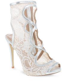 Daniella Michelle Kaia High Heels Silver-Toned