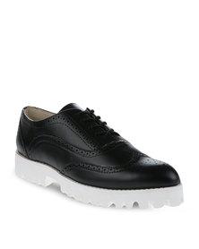 Daniella Michelle Stelha Lace-Up Shoes Black
