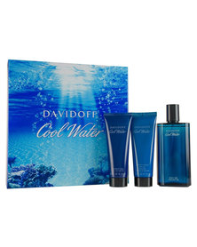 Davidoff Coolwater Man 125ml EDT & 75ml Aftershave Balm & 75ml Shower Gel Gift Set