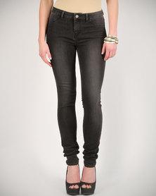 DAY Birger Et Mikkelsen 2nd Jolie Yam Dyed Jeans Grey Stonewash