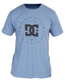 DC Rebuilt 2 T-Shirt Frost Blue