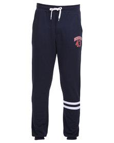 DC Wellington Track Pants Blue