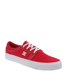 DC Trase TX Sneakers Red/White