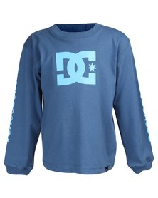 DC Toddlers Star Standard Longsleeve T-Shirt Blue
