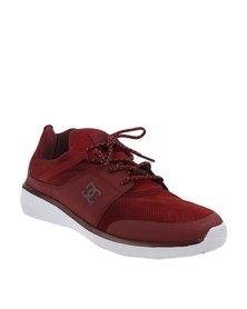 DC Heathrow Prestige Sneakers Red Clay
