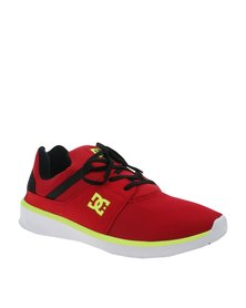 DC Heathrow Sneakers Black/Red/Yellow