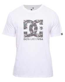 DC Race Tee White