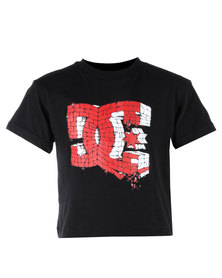 DC Flinstone Tee Black