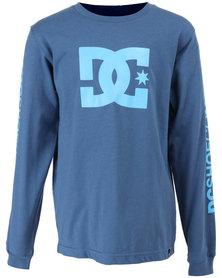 DC Boys Star Standard Long Sleeve T-Shirt