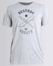 DC Tearbait T-Shirt Grey