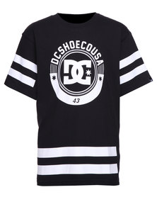 DC Hockey Boys Tee Black