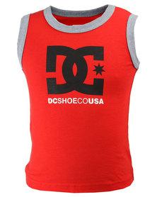 DC Tods Earl TT Vest Red