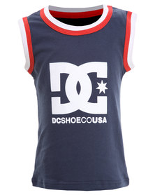 DC Hit The Road Tods Vest Navy