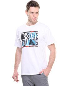 DC NU Slip T-shirt White