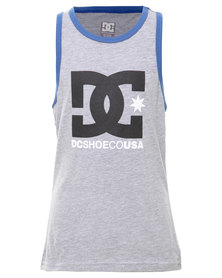 DC Earl Boys Tank Top Grey