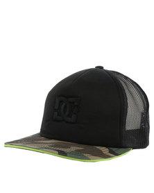 DC Council Trucker Cap Black