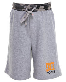 DC Leo Boys Short Grey