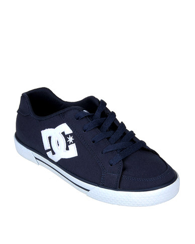 DC Empire Canvas Shoe Navy