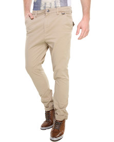 Deacon Blake Chino Pants Beige