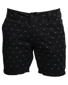 Deacon Van Dyke Shorts Black