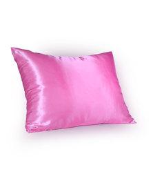 Dear Deer Satin Pillow Case Baby Pink