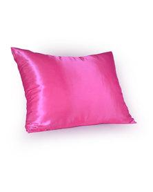 Dear Deer Satin Pillow Case Fuchsia
