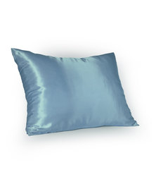 Dear Deer Satin Pillow Slip Blue