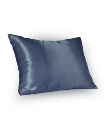 Dear Deer Satin Pillow Slip Navy