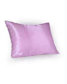 Dear Deer Satin Pillow Slip Rose
