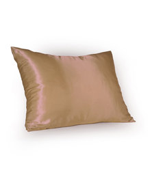 Dear Deer Satin Pillow Slip Beige